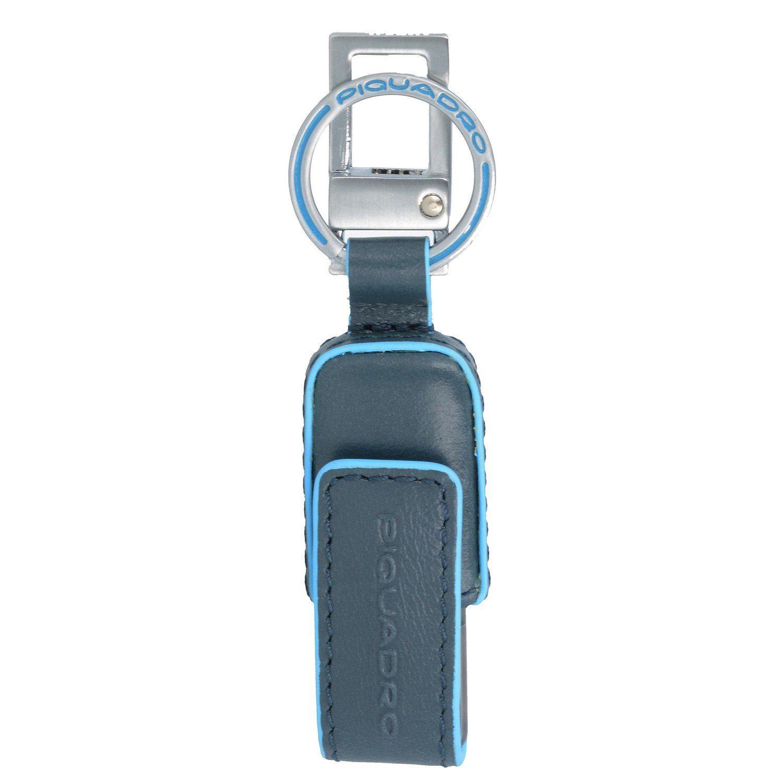 Piquadro Blue Square USB-Stick Leder 10 cm