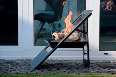 DOBAR Feuerschale »Design«, B/T/H: 50/56/61 cm