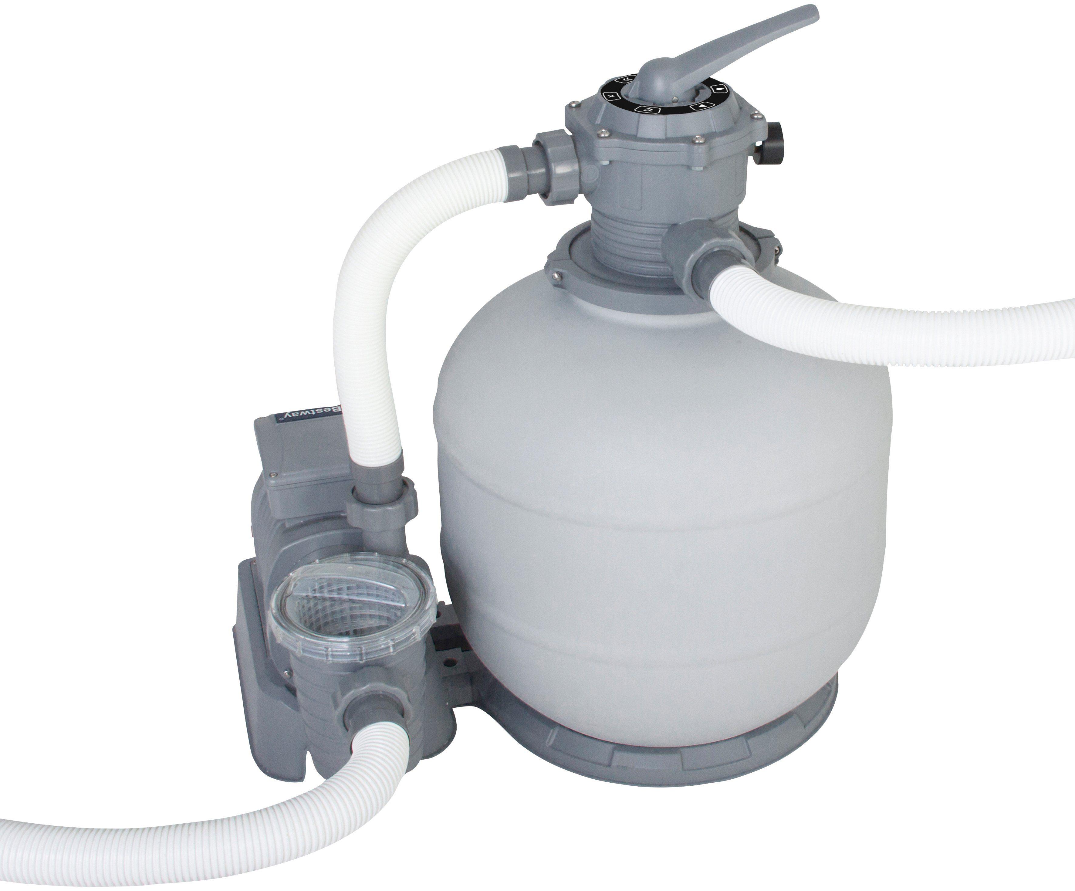 BESTWAY Sandfilteranlage »Flowclear™«, Filterleistung ca. 7.571 Liter pro Stunde