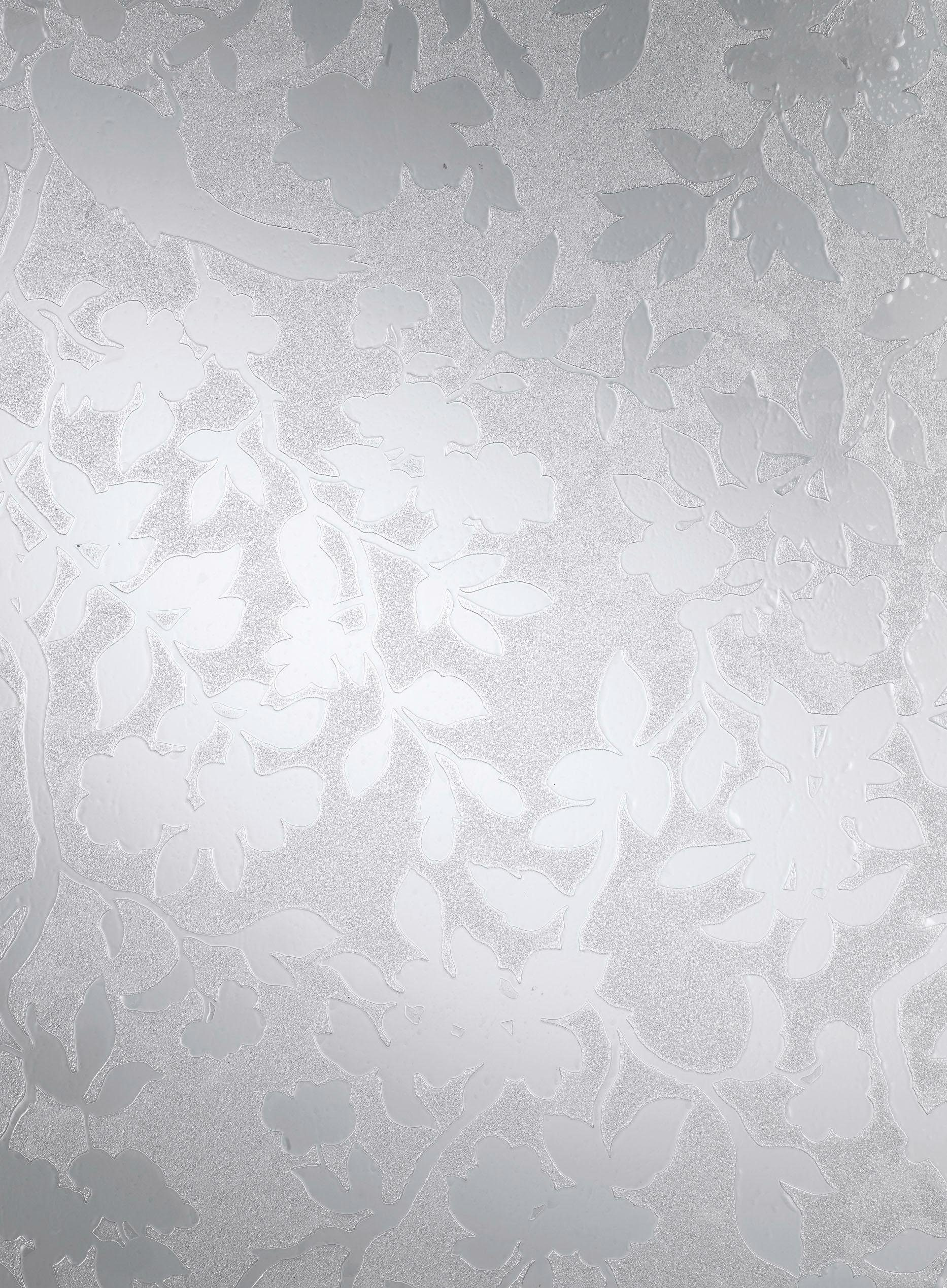 Fensterfolie, »Spring geprägt«, 95% UV-Schutz, halbtransparent
