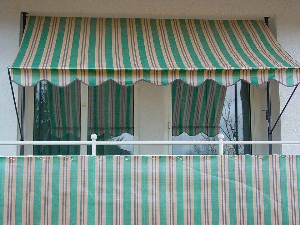 angerer freizeitm bel wind und sichtschutz nr 1900 gr n beige braun l nge nach ma in 2. Black Bedroom Furniture Sets. Home Design Ideas