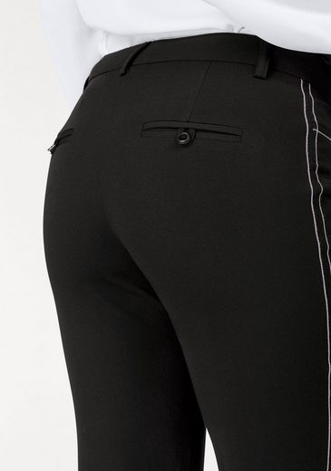 Bruno Banani Stretch-Hose, New Fit: Zigarettenhose