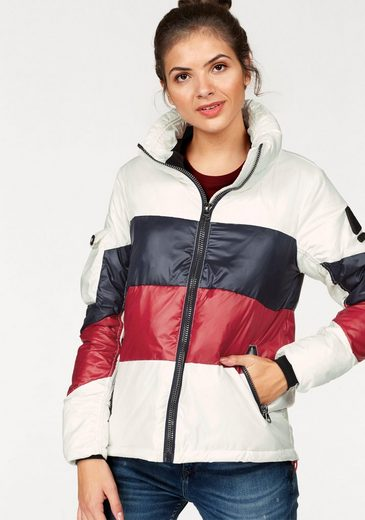 Gaastra Steppjacke Meteor, im Colourblocking-Look
