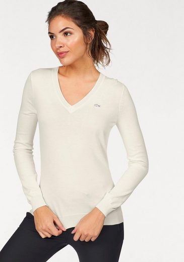 Lacoste V-neck-sweater, Fine Trick Quality Of Lighter