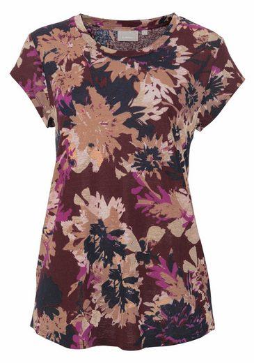 InWear Rundhalsshirt Celestin, mit wunderschönem Blumendruck