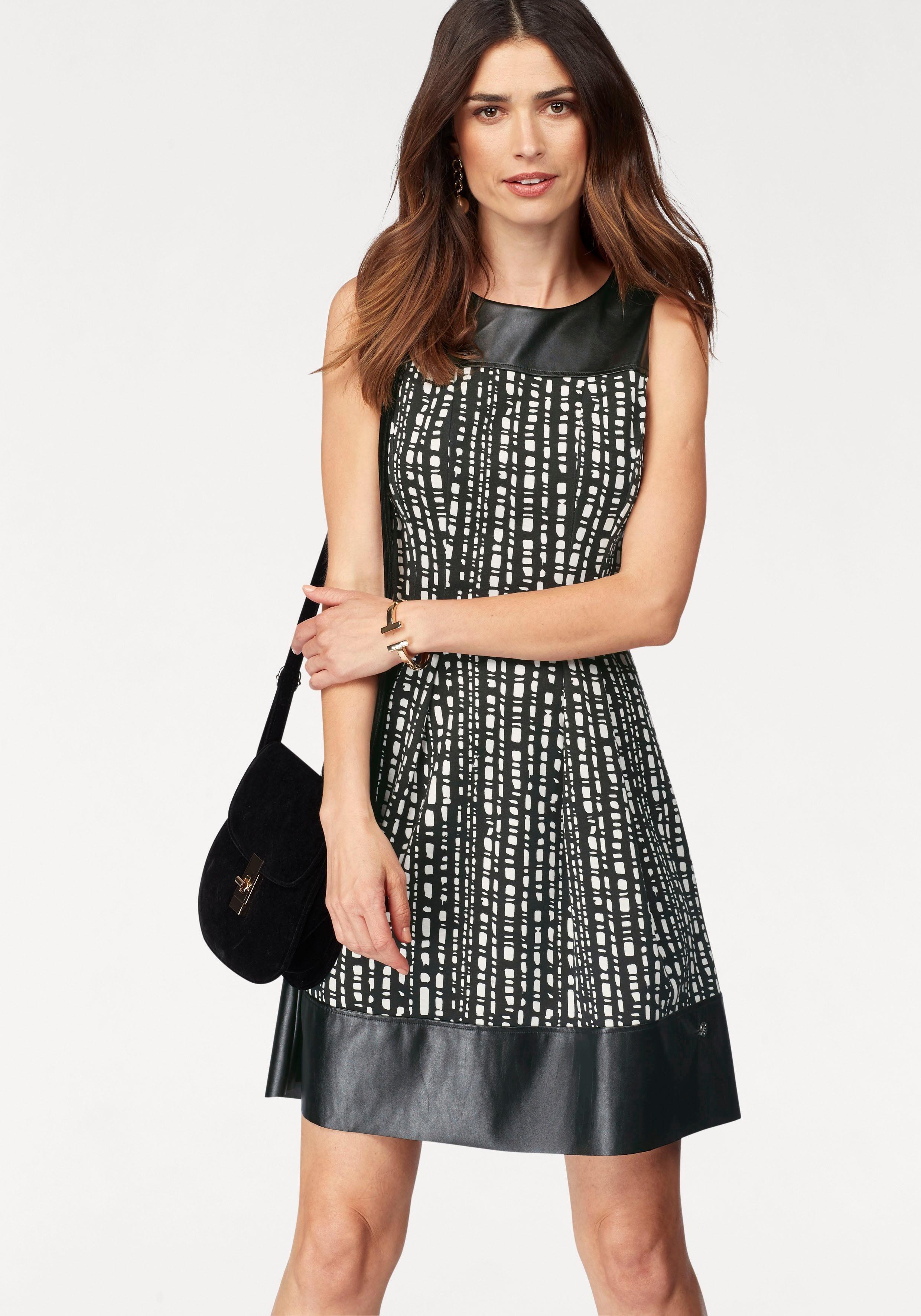 A-Linien-Kleid schwarz Bruno Banani MJUm0WPd
