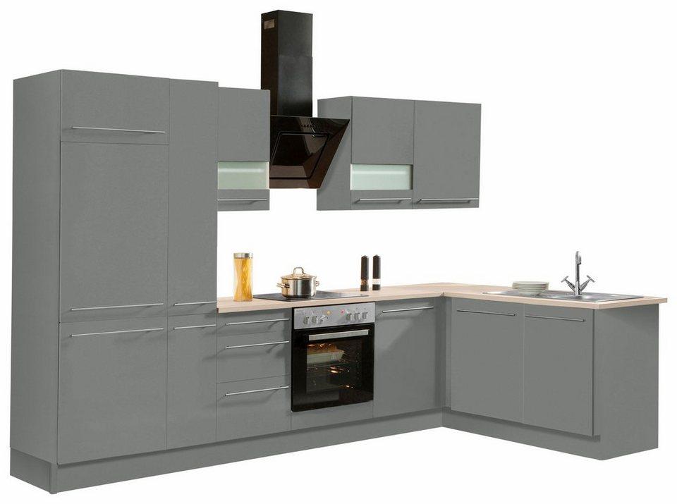 OPTIFIT Winkelküche ohne E-Geräte »Bern«, Stellbreite 315 x 175 cm ...