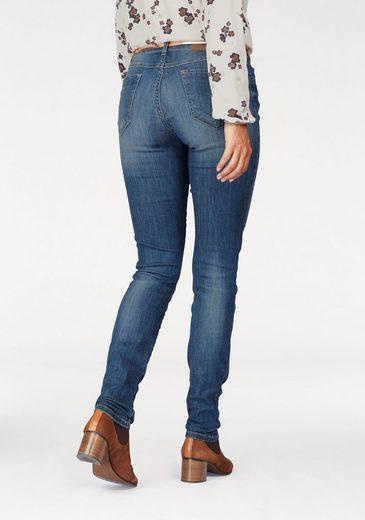Marc O'Polo Stretch-Jeans Alby slim, long and lean, mit dezenten Destroyed Effekten