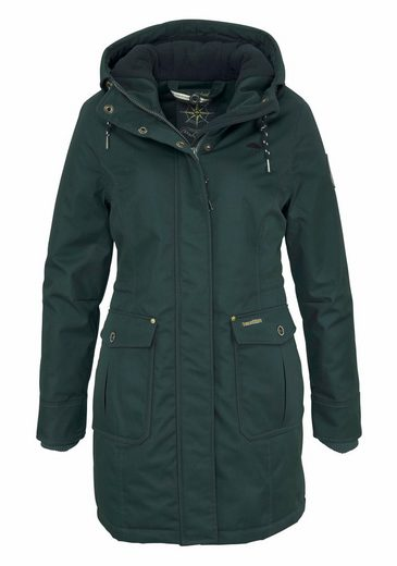 Schmuddelwedda Outdoorjacke, in Parka-Form