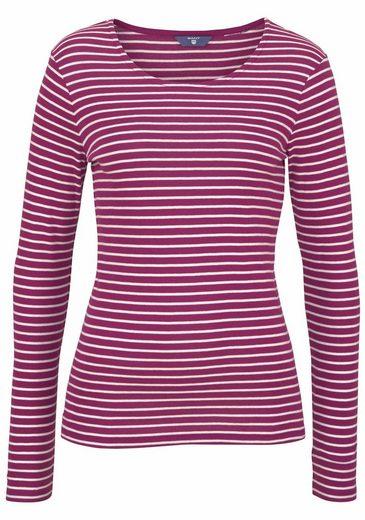 Gant Langarmshirt, im trendy Ringel-Look