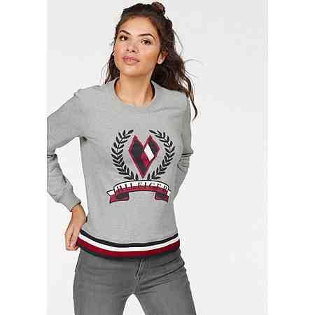 Tommy Hilfiger Sweatshirt »Tate Heart«, mit auffälligem Frontprint