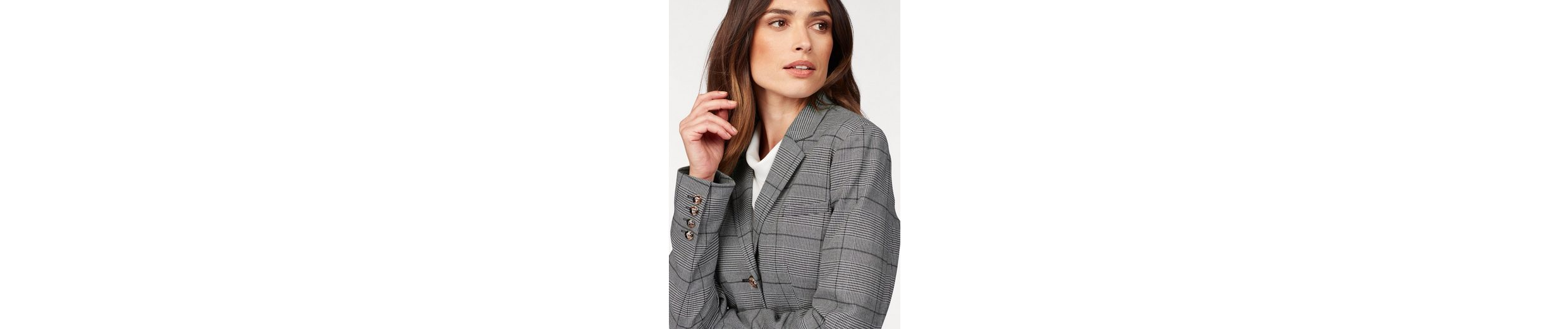 Bruno Banani Kurzblazer, in Glencheck-Optik