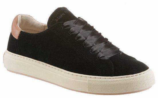 Marc O'Polo Sneaker, in trendiger Samtoptik