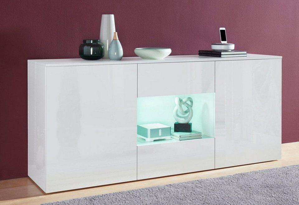 tecnos sideboard breite 180 cm online kaufen otto. Black Bedroom Furniture Sets. Home Design Ideas