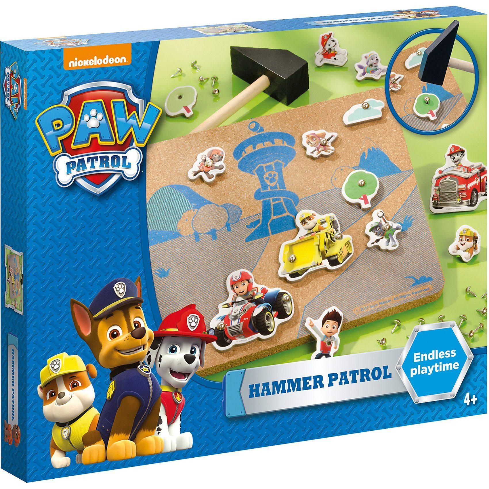 totum Paw Patrol Hammerspiel
