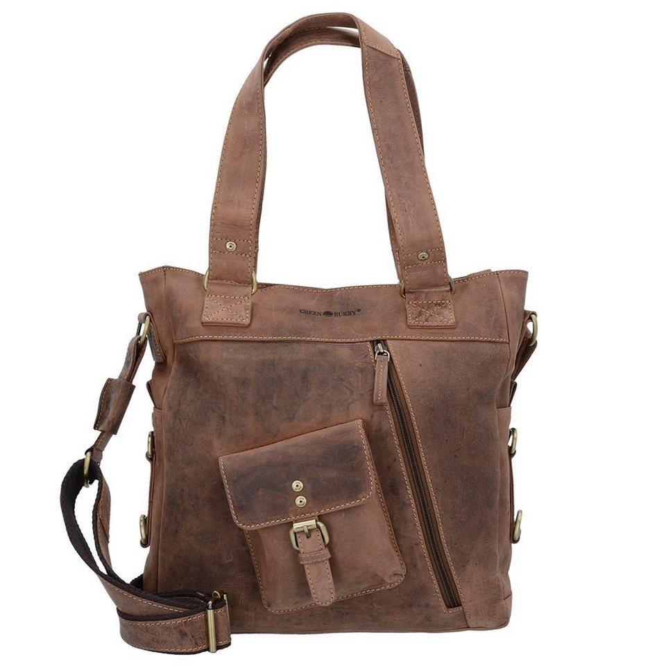 8eb21cae184e8 Greenburry Vintage Handtasche Leder 33 cm kaufen