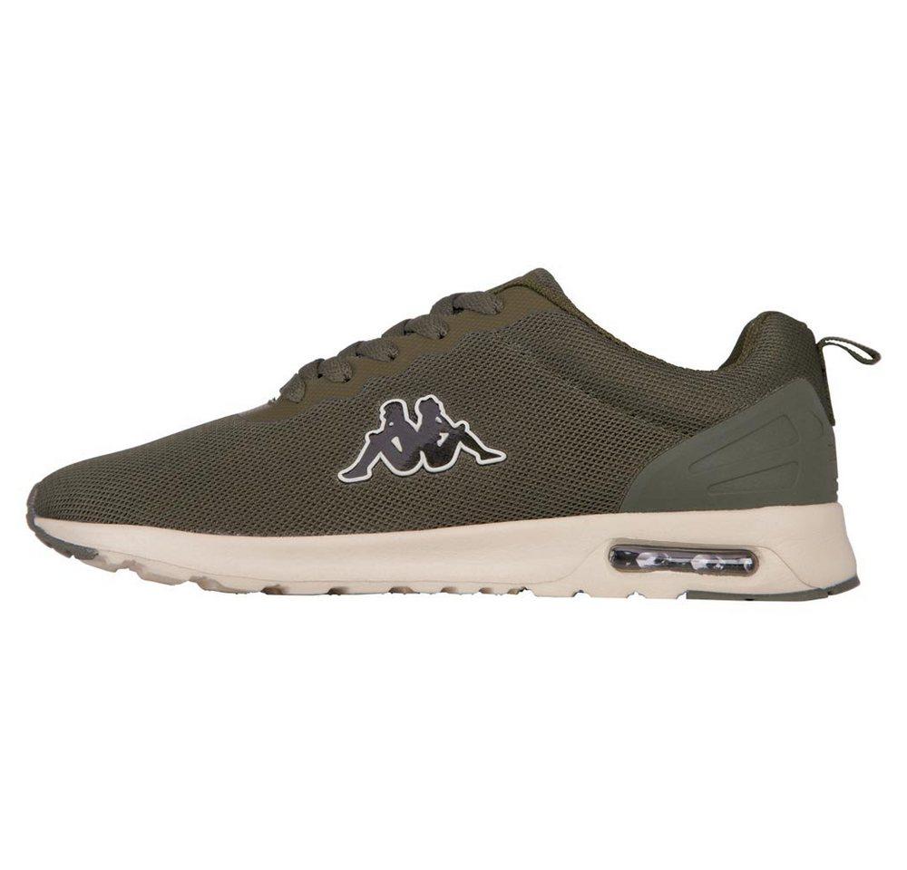 Damen Kappa CLASSY Sneaker mit sichtbarem Luftkissen grün   04056142274744