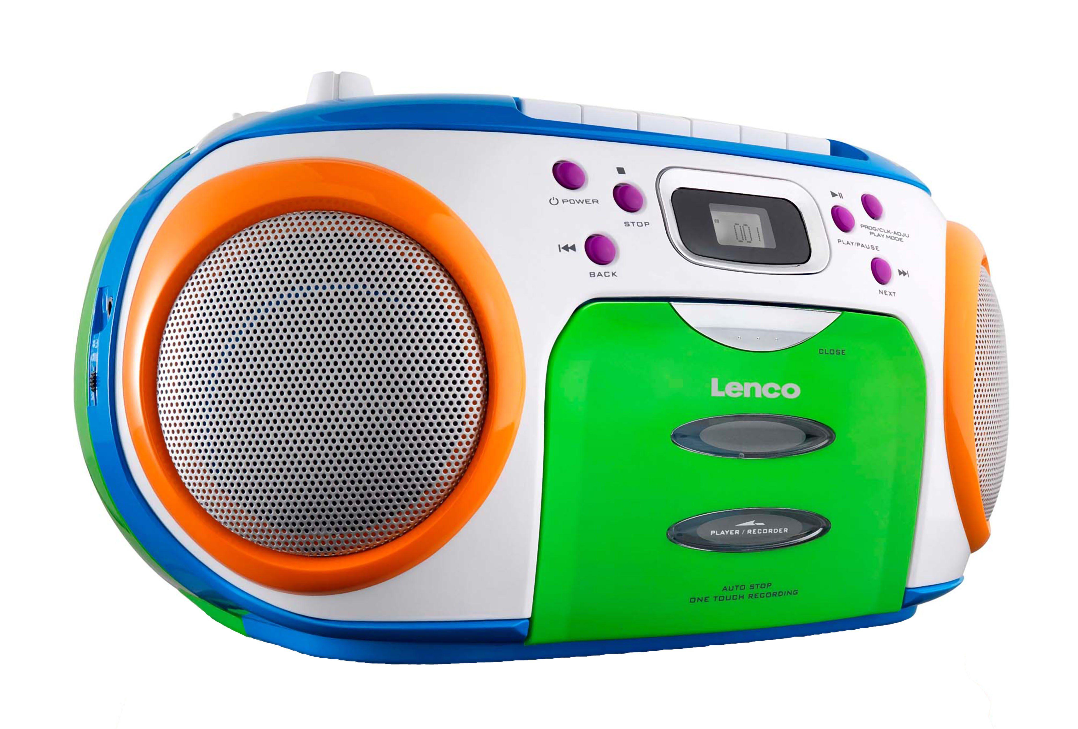 Lenco Tragbarer CD-Recorder mit FM-Radio »SCR-970«