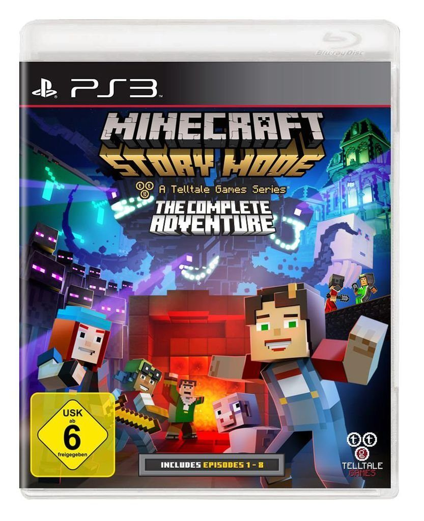 Telltale Games Playstation 3 - Spiel »Minecraft Story Mode - The Complete Adventure«