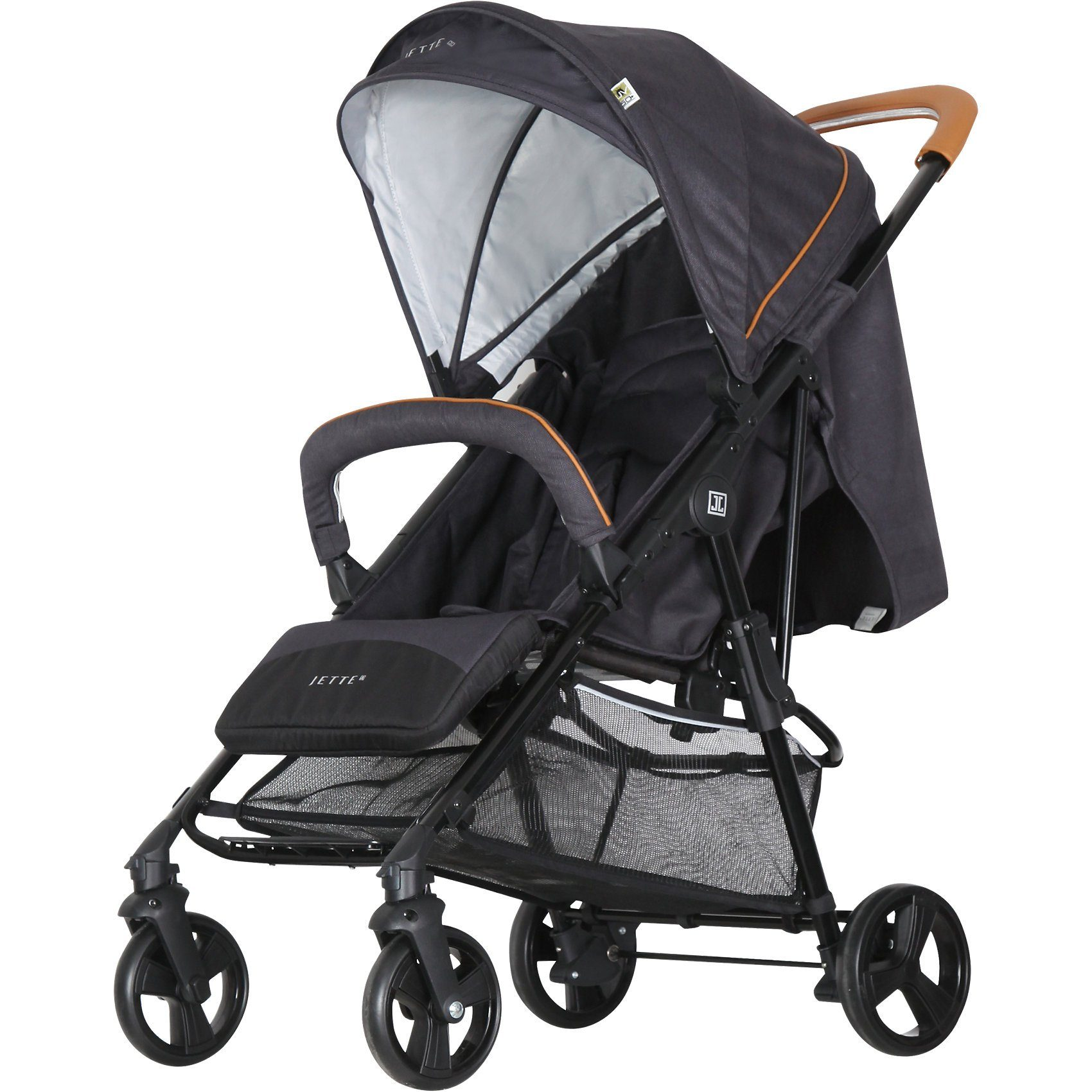 Jette Kinderwagen Sportwagen JACOB, fishbone graphite