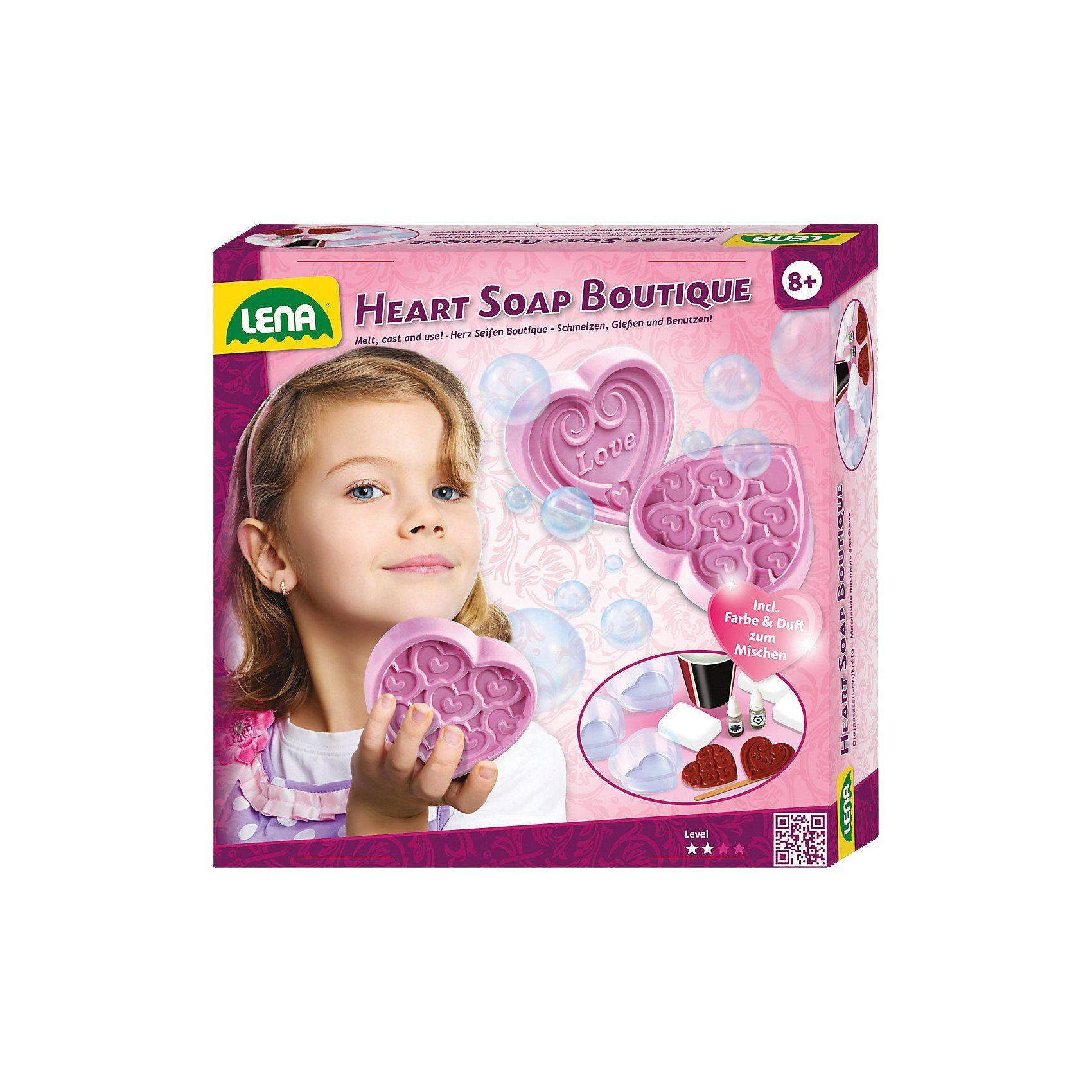 Lena® Heart Soap Boutique Kreativset Seifengießen