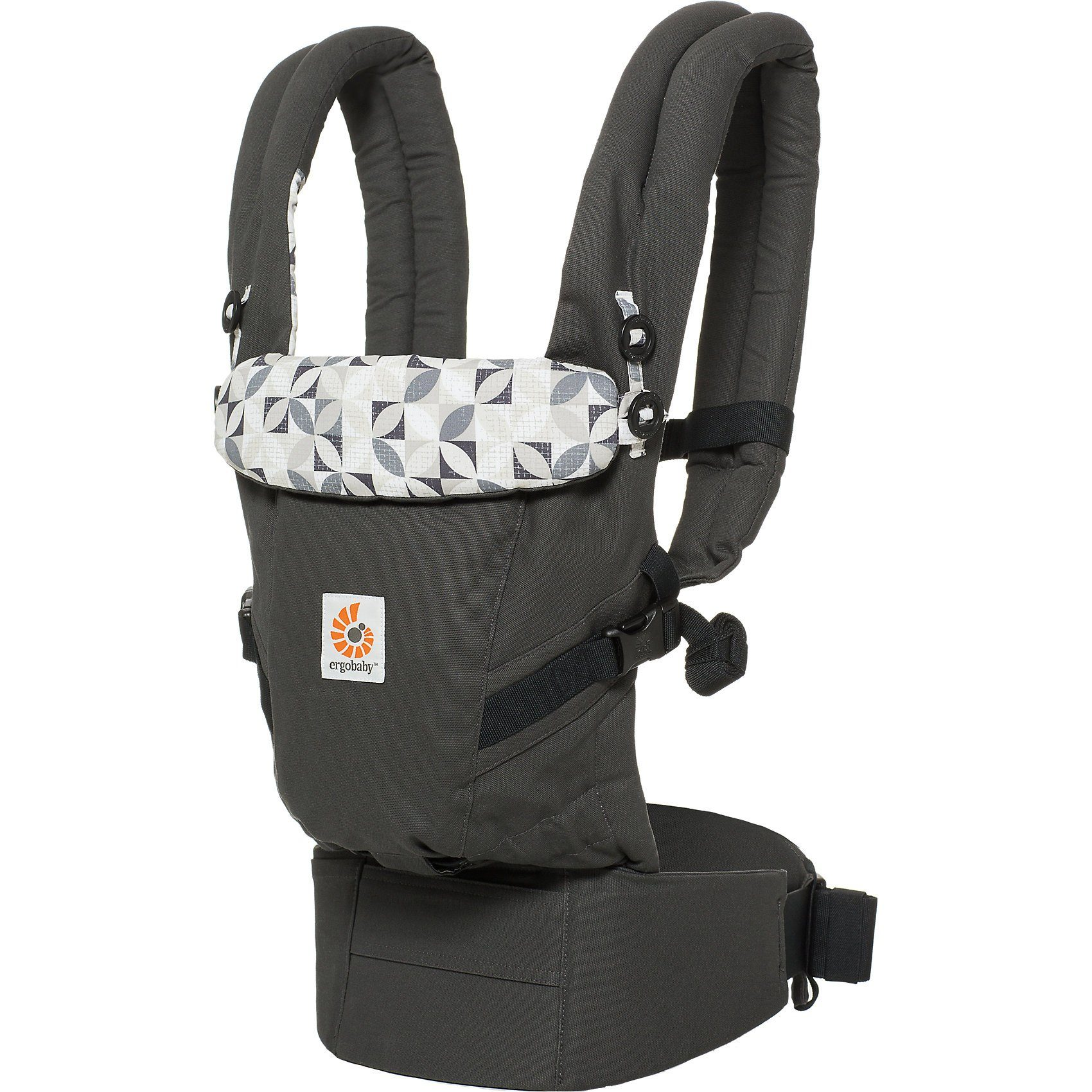 ERGObaby Babytrage Adapt, Graphic Grey