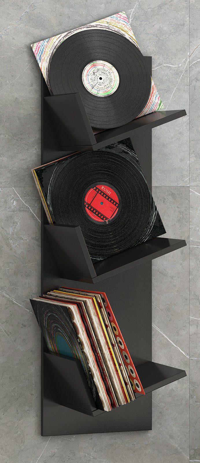VCM Schallplatten-Regal ´´Sulda´´