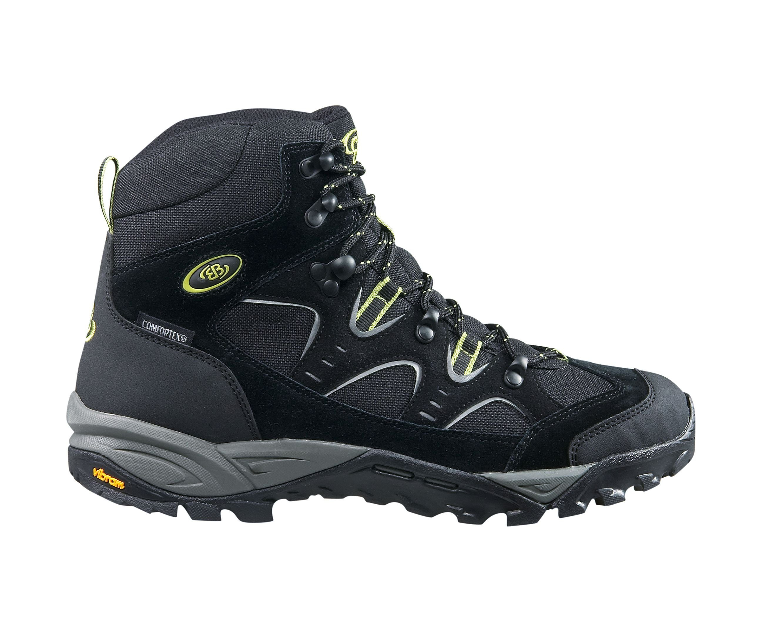 Brütting Trekkingschuh Takoma online kaufen  schwarz#ft5_slash#grau#ft5_slash#lemon