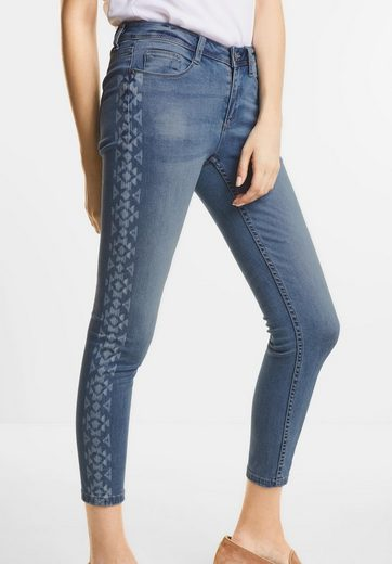 Street One Denim mit Ikat-Bordüre York