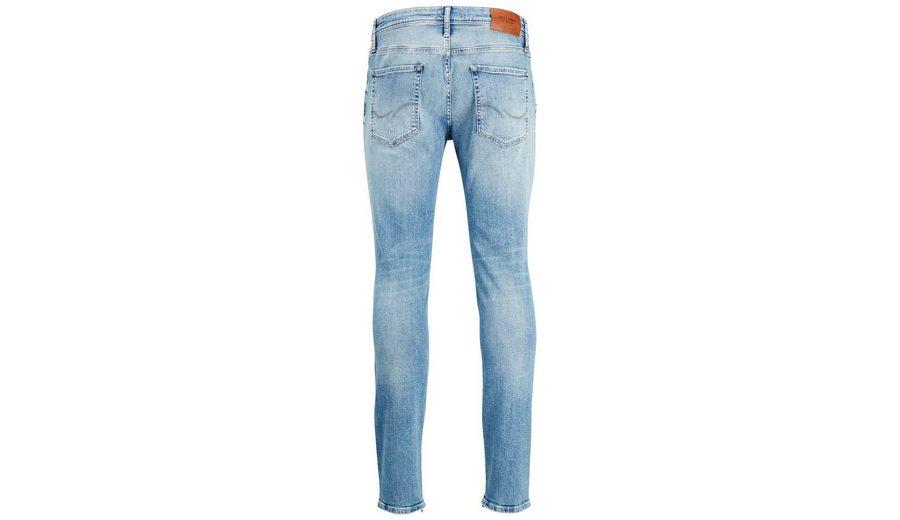 Jack & Jones LIAM ZIP JOS 088 Skinny Fit Jeans Freies Verschiffen Bequem Spielraum Online Amazon Billig Verkauf Manchester Großer Verkauf Billig Verkauf Größte Lieferant NVN5qBFe