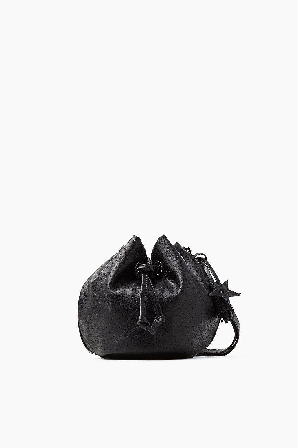 EDC Bucket Bag in Leder-Optik