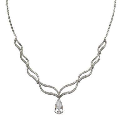 Vivance Collier »925/- Sterling Silber rhodiniert 249x Zirkonia«