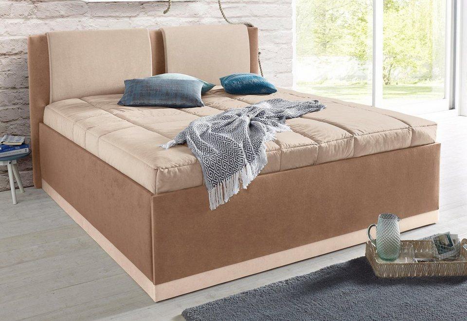 westfalia schlafkomfort polsterbett inkl bettkasten und. Black Bedroom Furniture Sets. Home Design Ideas
