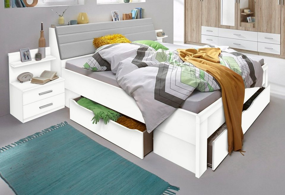 rauch pack s bettanlage inkl bettkasten und bettschubk sten online kaufen otto. Black Bedroom Furniture Sets. Home Design Ideas