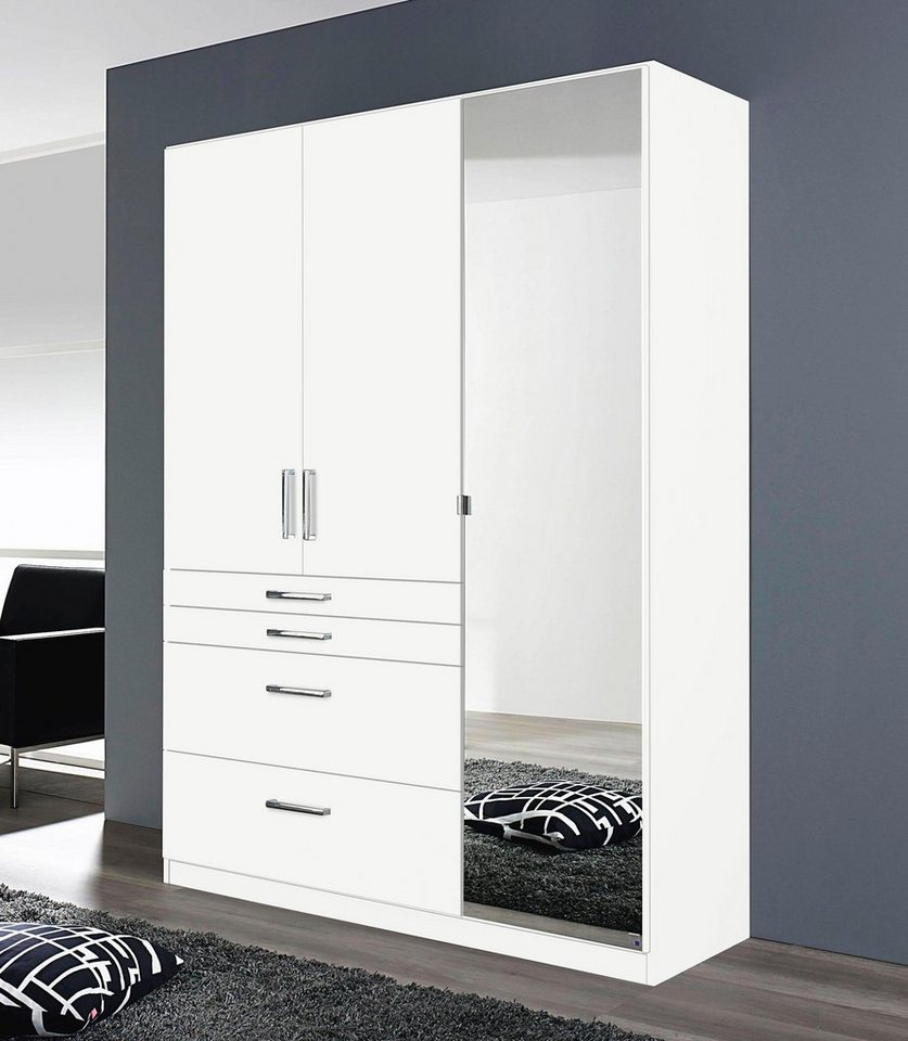rauch pack s kleiderschrank mit spiegel kaufen otto. Black Bedroom Furniture Sets. Home Design Ideas