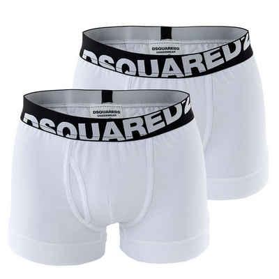 Dsquared2 Boxer »Herren Boxershorts - Cotton Stretch Trunks, 2er«