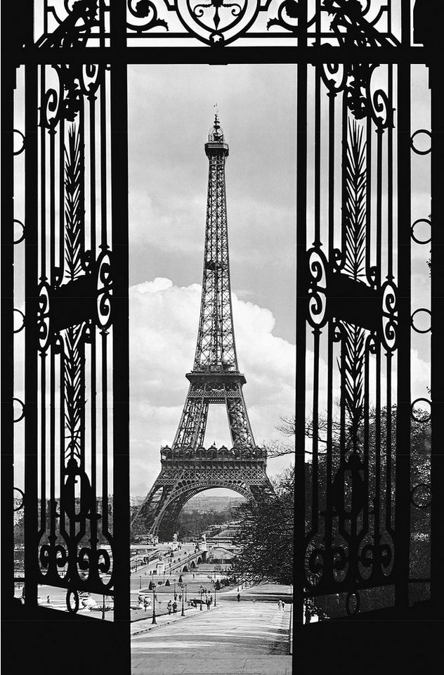 idealdecor xxl poster giant art la tour eiffel otto. Black Bedroom Furniture Sets. Home Design Ideas