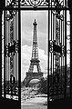 IDEALDECOR XXL Poster »Giant Art - La Tour Eiffel«, Bild 1