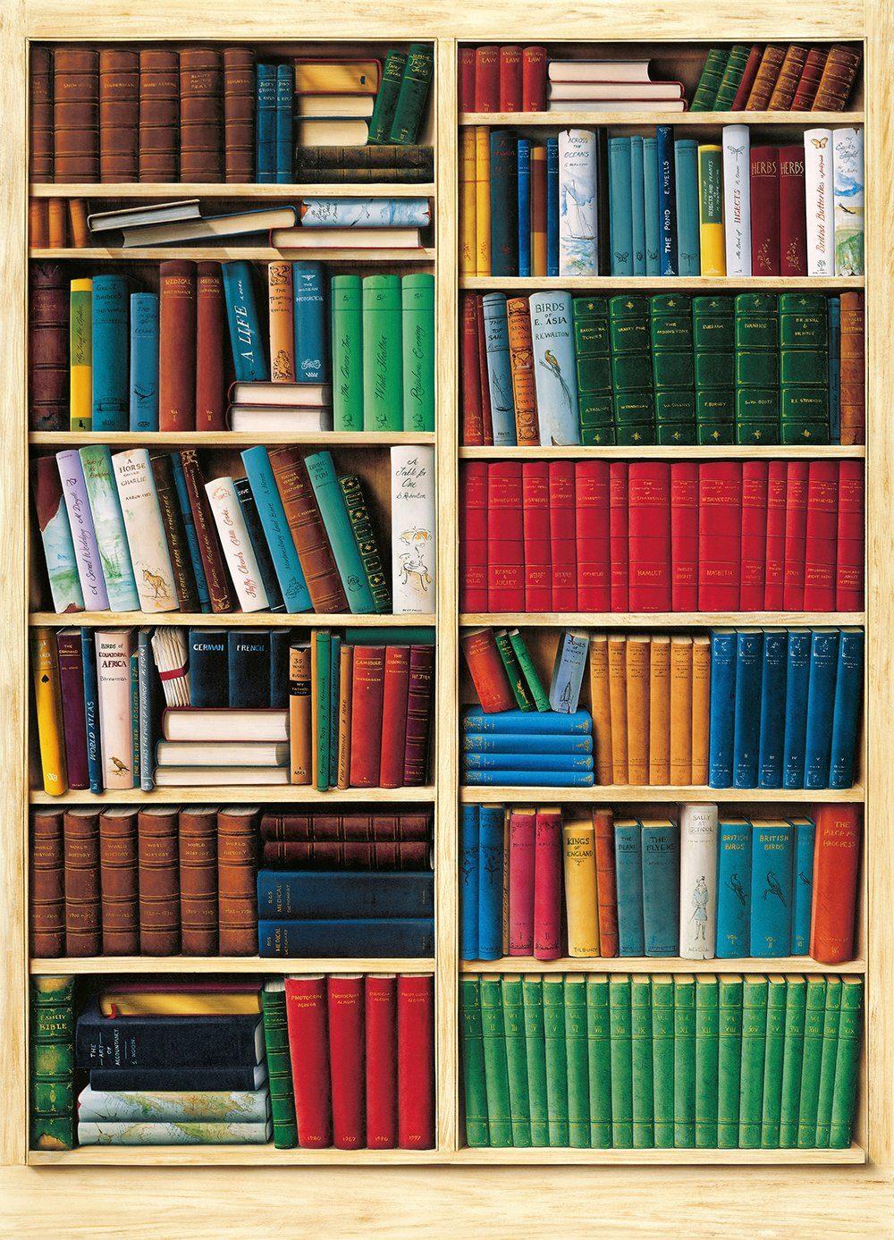 IDEALDECOR Fototapete »Bibliotheque«, 4-teilig, 183x254 cm