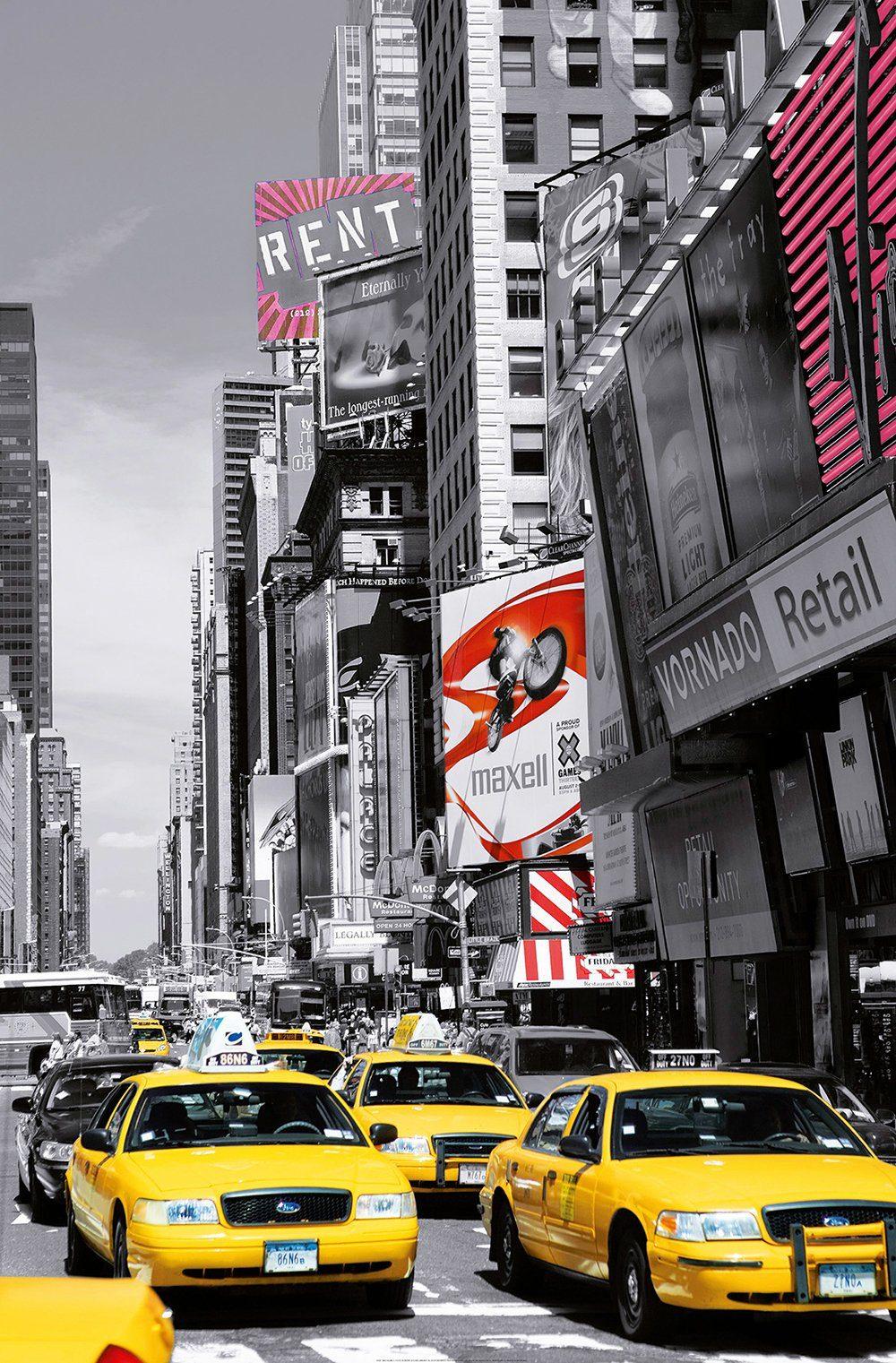 IDEALDECOR XXL Poster »Giant Art - Times Square«