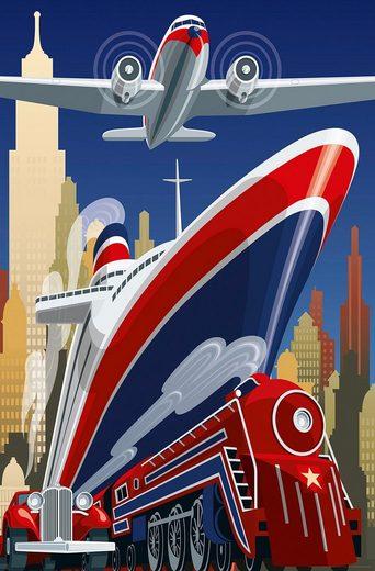 IDEALDECOR XXL Poster »Giant Art - Point of Depature«