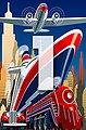 IDEALDECOR XXL Poster »Giant Art - Point of Depature«, Bild 4