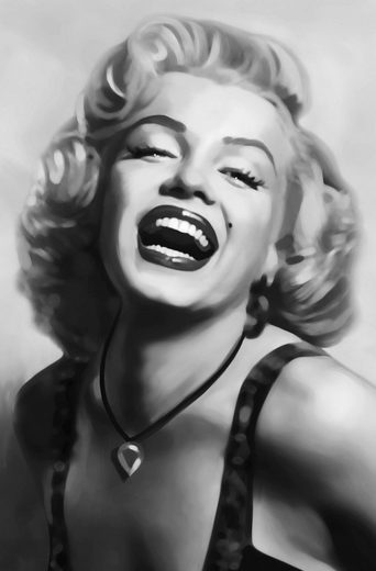 IDEALDECOR XXL Poster »Giant Art - Marilyn Monroe«