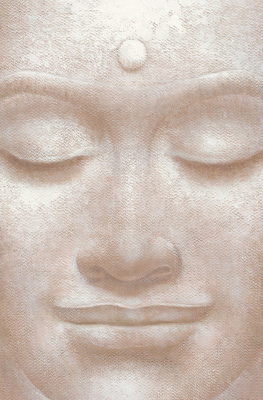 IDEALDECOR XXL Poster »Giant Art - Smiling Buddha«