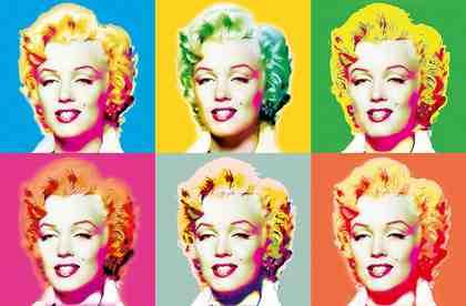 IDEALDECOR XXL Poster »Giant Art - Visions of Marilyn«