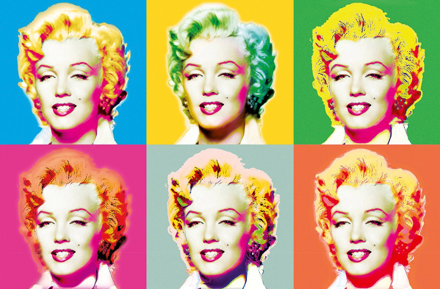 IDEALDECOR XXL Poster »Giant Art - Visions of Marilyn«