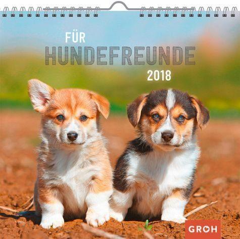 Kalender »Für Hundefreunde 2018«