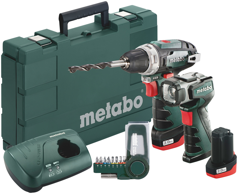 Metabo Akkubohrschrauber »PowerMaxx BS Basic Set«