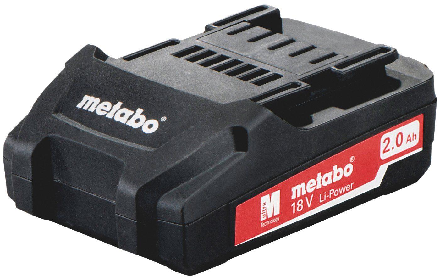 METABO Akku »18 V, 2,0 Ah, Li-Power Pick + Mix Serie«, 18 V, 2 Ah