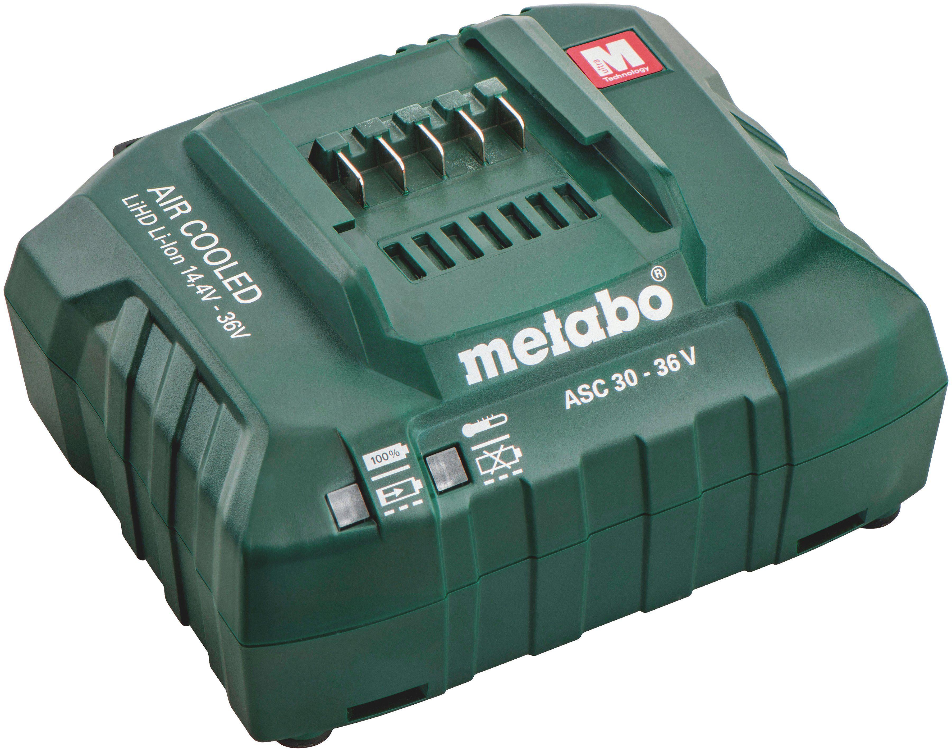 METABO Pick + Mix Serie: Ladegerät »ASC 30-36 V EU, 14,4-36 V«